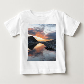 Nydiver Lakes Sunrise 2 - Ansel Adams Wilderness Baby T-Shirt