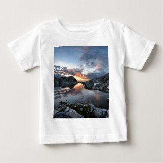 Nydiver Lakes Sunrise - Ansel Adams Wilderness Baby T-Shirt