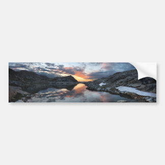 Nydiver Lakes Sunrise - Ansel Adams Wilderness Bumper Sticker