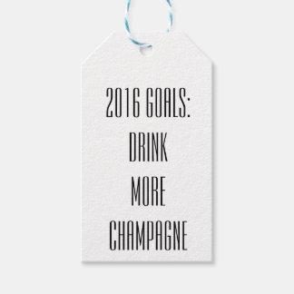 NYE Champagne Tags