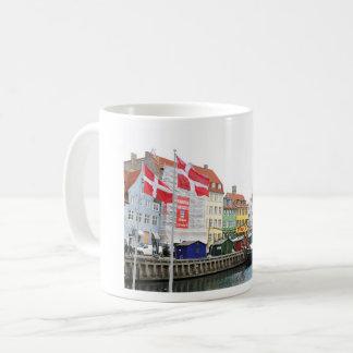 Nyhavn canal in Copenhagen, Danmark Coffee Mug