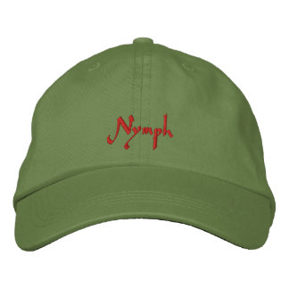 Nymph Slayer Cap / Hat Embroidered Hat