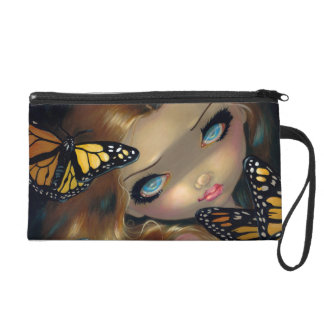 Nymph with Monarchs Wristlet