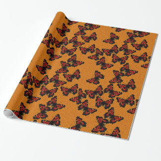 Nymphalis xanthomelas wrapping paper