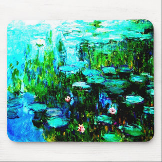 Nympheas Water Lillies Monet Mousepad