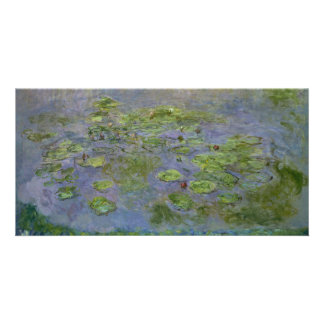 Nympheas (Waterlilies) by Claude Monet Photo Card Template