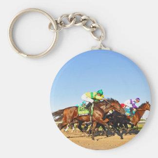 Nyquist Pa. Derby Basic Round Button Keychain
