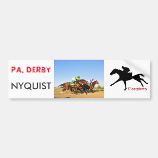 Nyquist Pa. Derby Bumper Sticker