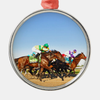 Nyquist Pa. Derby Metal Ornament