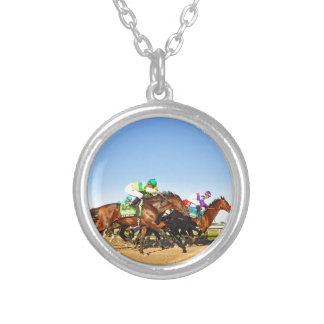 Nyquist Pa. Derby Silver Plated Necklace