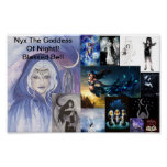 nyx's collage, Nyx The Goddess Of Night!! Bless... Poster