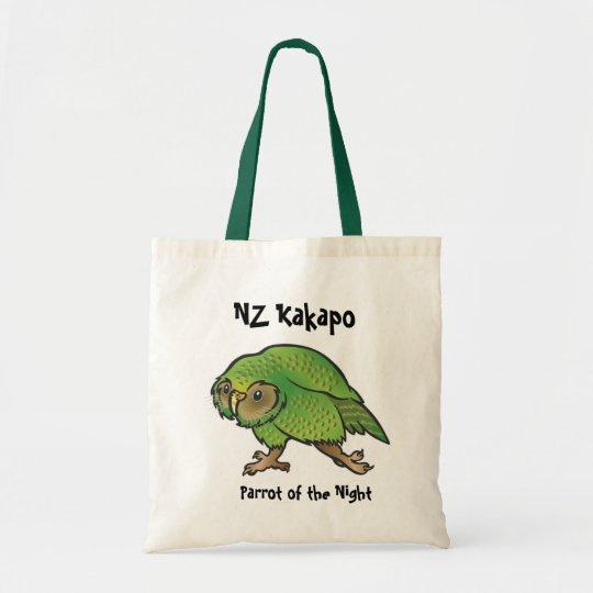 NZ Kakapo Tote Bag