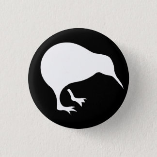 NZ KIWI 1 INCH ROUND BUTTON