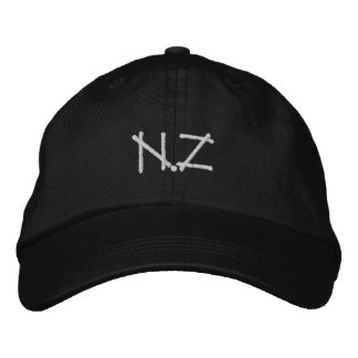 NZ Kiwi supporters gifts apparel clothing hats Embroidered Hats