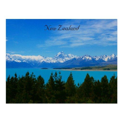 nz landscape post cards