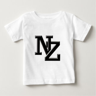 NZ letters New Zealand Baby T-Shirt