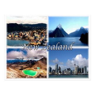 NZ New Zealand - Postcard
