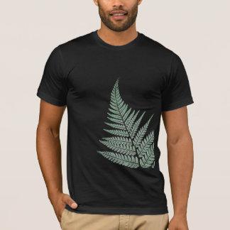 NZ Silver Fern, Dark Green T-Shirt
