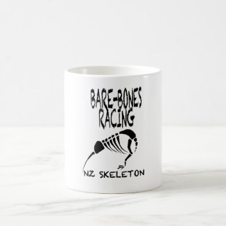 NZ Skeleton Bare-Bones Racing Mug