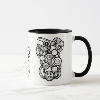 nz tribal mug