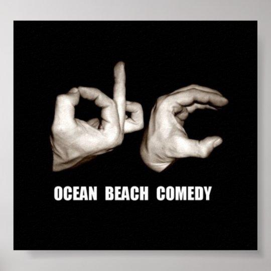 O.B.C. Poster