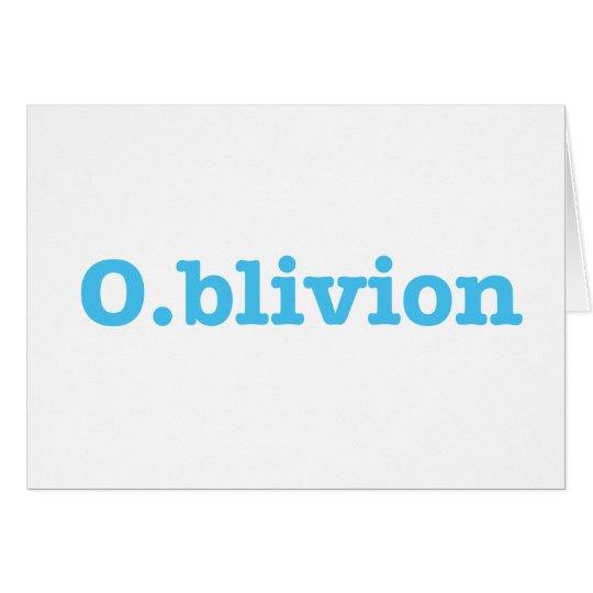 O.blivion Card