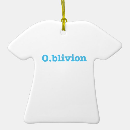 O.blivion Ceramic Ornament