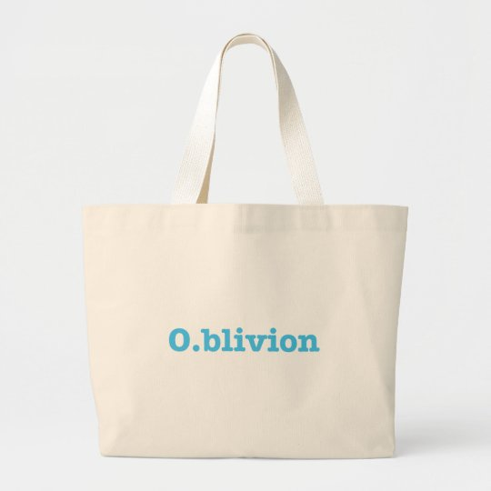 O.blivion Large Tote Bag