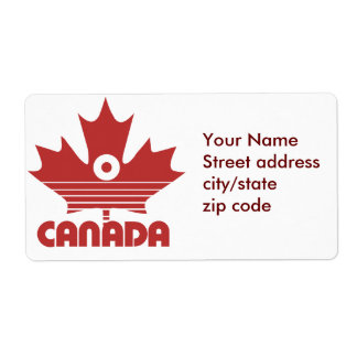 O Canada Day Shipping Label