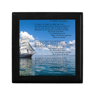 O' Captain, My Captain by: Walt Whitman Gift Box