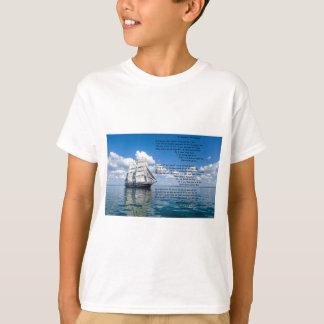 O' Captain, My Captain by: Walt Whitman T-Shirt
