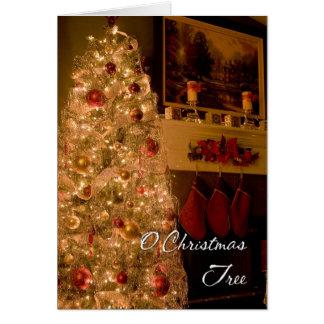 O Christmas Tree Card