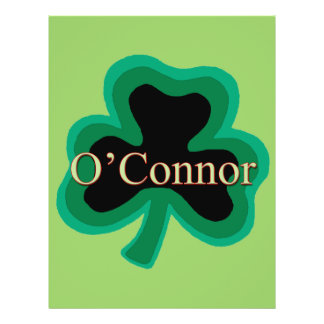 O Connor Family Full Color Flyer