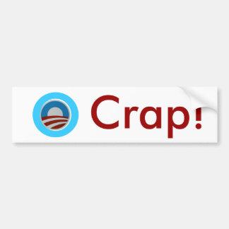O Crap! Bumper Sticker