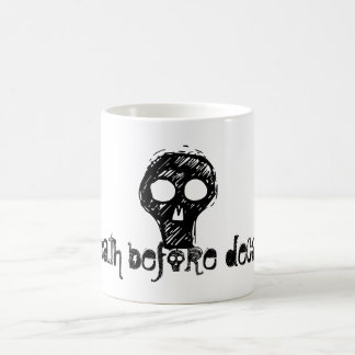 o, death before decaf!, hw designs magic mug