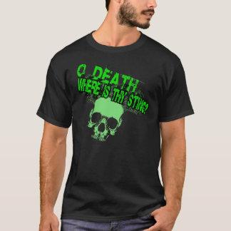 O Death Where Is Thy Sting (Guys Basic T-Shirt) T-Shirt