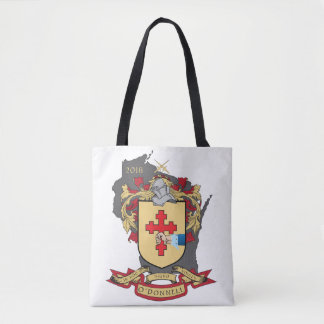 "O""Donnell Family Crest_Wisconsin Tote"