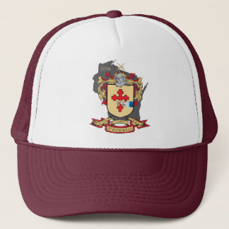 "O""Donnell Family Crest_Wisconsin Trucker Hat"