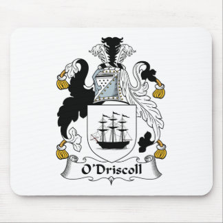 O Driscoll Family Crest Mouse Pads