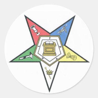 O.E.S. Produits Sticker Rond