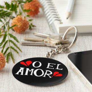 O El Amor Keychain