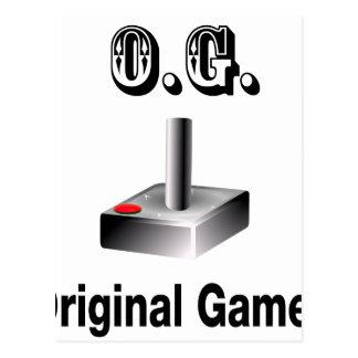 O.G. Gamer original Carte Postale