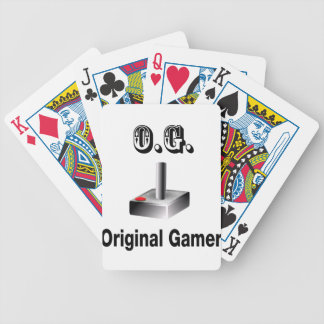 O.G. Original Gamer Bicycle Playing Cards