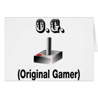O.G. Original Gamer Card