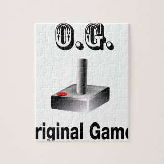 O.G. Original Gamer Jigsaw Puzzle