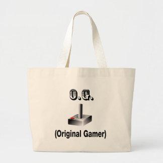 O.G. Original Gamer Large Tote Bag