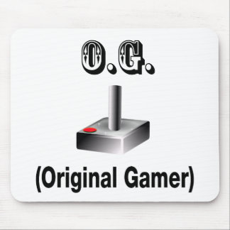 O.G. Original Gamer Mouse Pad