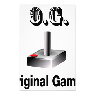 O.G. Original Gamer Personalized Stationery