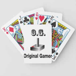 O.G. Original Gamer Poker Deck