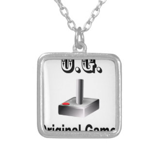 O.G. Original Gamer Silver Plated Necklace